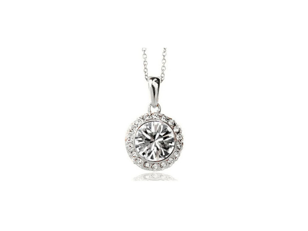 N248c Clear crystal pendant