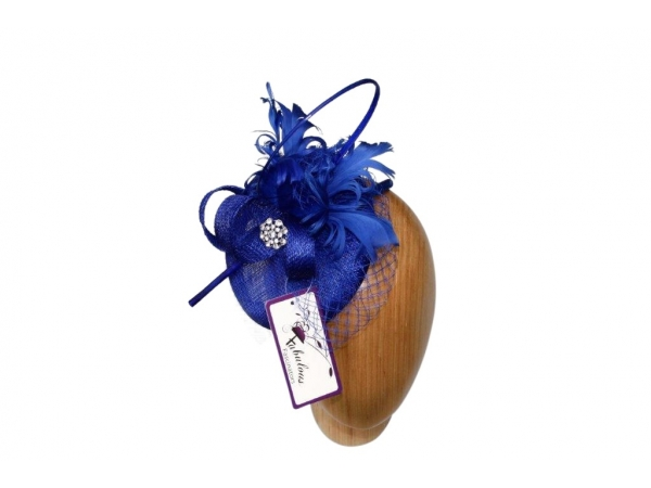 Bailey Cobalt Fascinator