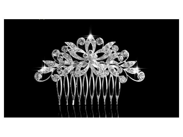 Bc6 Crystal hair comb
