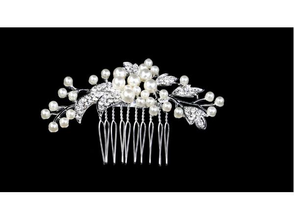 Bc4 Pearl & crystal comb