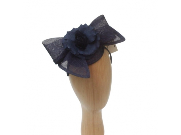 Bree Navy Fascinator