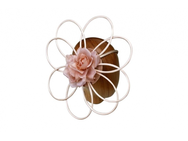 Cara Nude fascinator