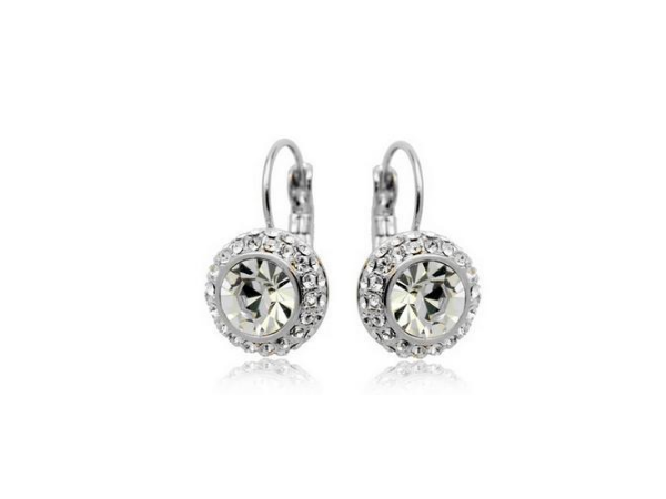 E198c Quality crystal earring
