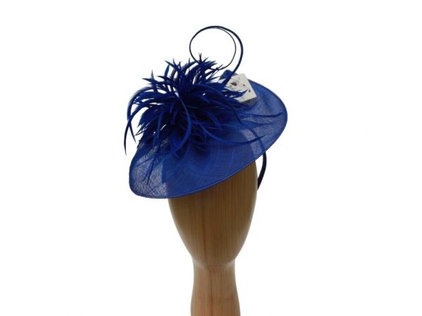 Eleanor Cobalt Fascinator