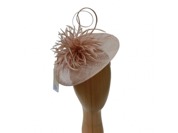 Eleanor Nude Fascinator