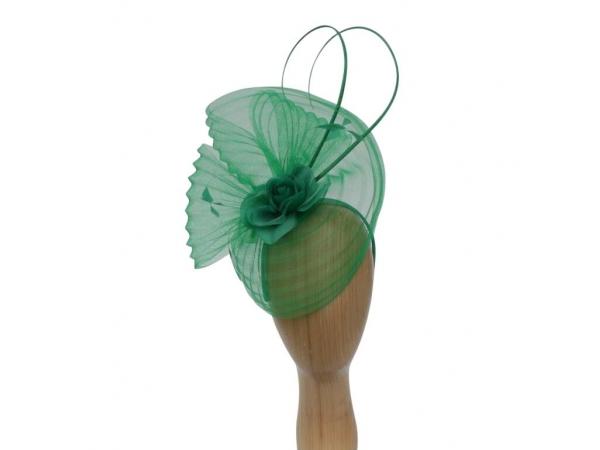 Flo Green Fascinator