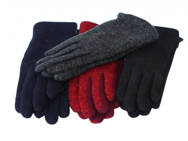 G- Fleck winter gloves. 12pk asstd colours