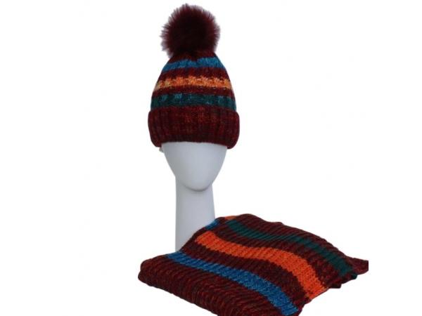Red Hat & Scarf Set