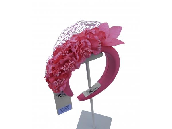 Hailey Coral Hairband