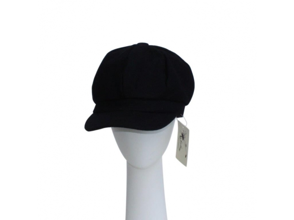 Navy Baker Boy Hat.