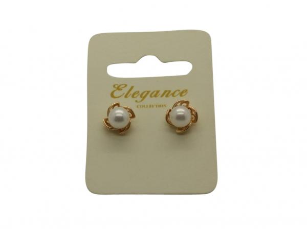 E185g Pearl stud earring
