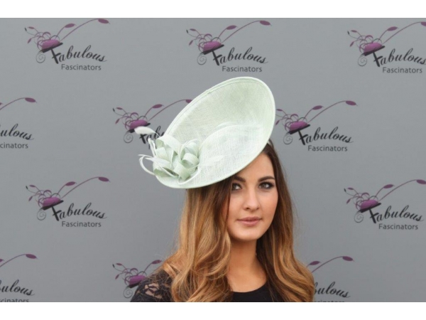 Jane Mint fascinator