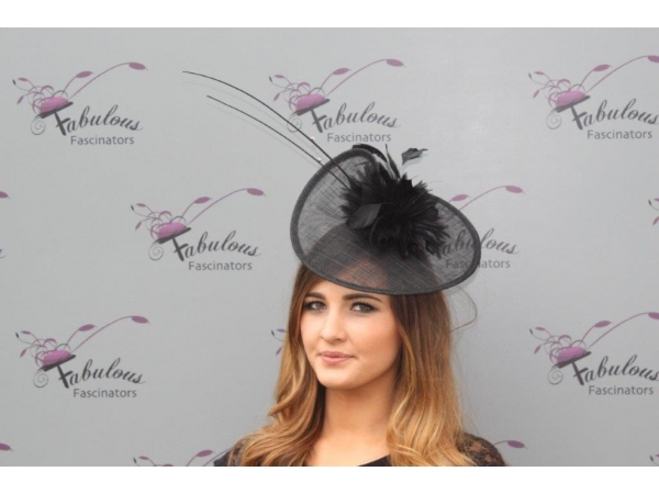 Kathy Black fascinator