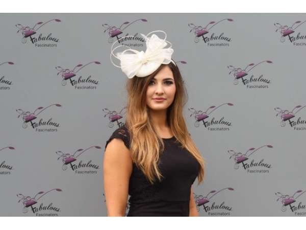 Shirley Cream Fascinator