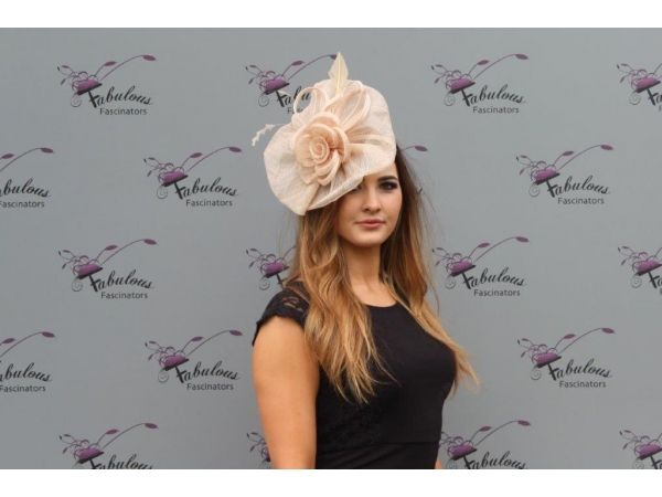Blossom Nude Fascinator