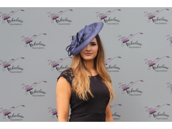 Pippa Navy Fascinator