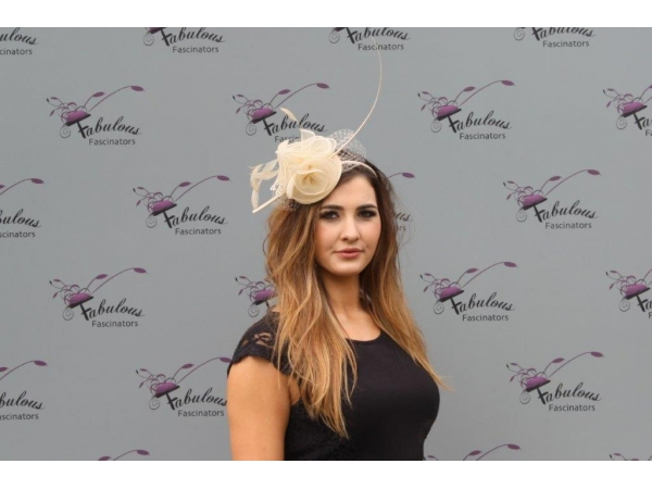 Faith Nude Fascinator
