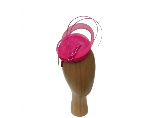 Linda Cerise Fascinator