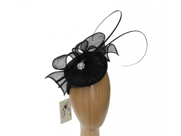 Lisa Black fascinator