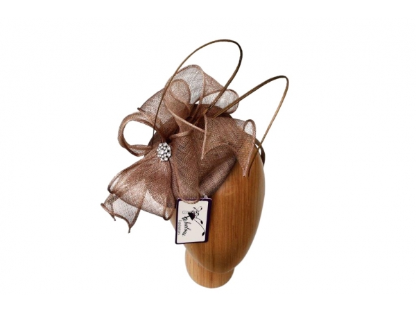 Lisa Coffee fascinator