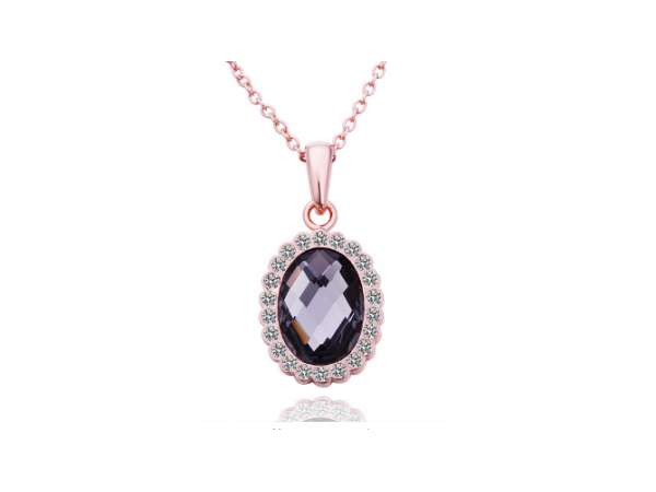 N408 Rose gold pendant