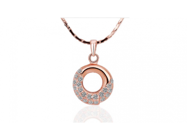 N413 Rose gold pendant