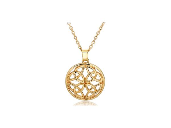 N447 Celtic design pendant