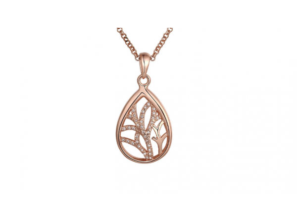 N428 Rose gold pendant.