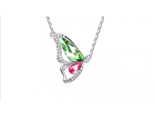 N262gp Butterfly design necklace