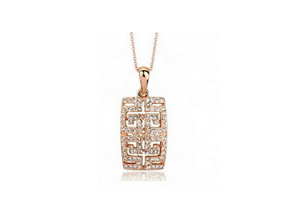 N293 Rose gold pendant