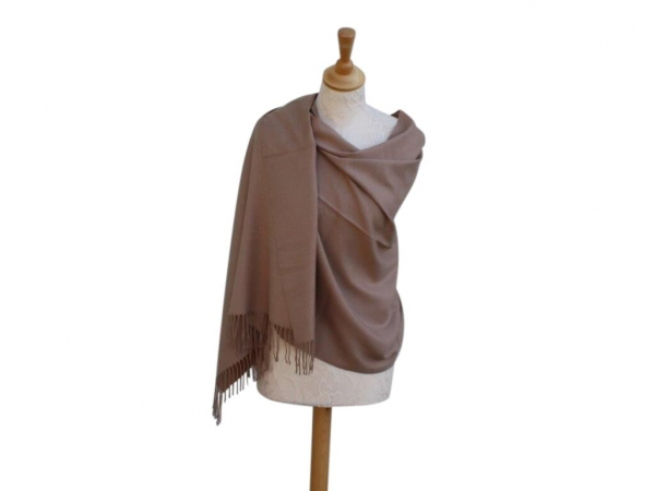 Pashmina Scarf Camel Wool/cashmere
