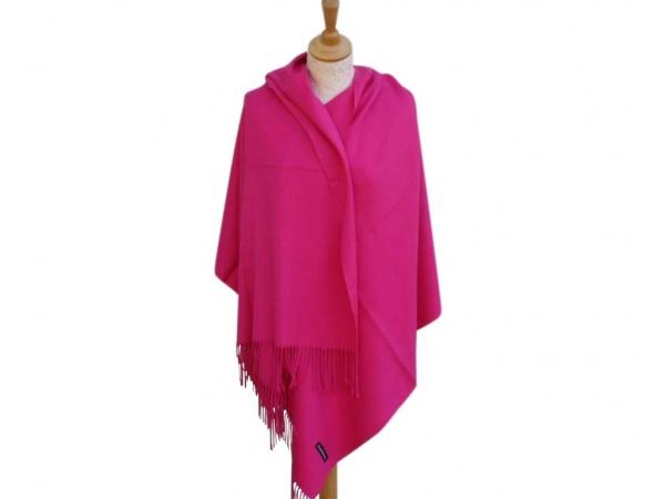 Pashmina Scarf fuchsia Wool/cashmere