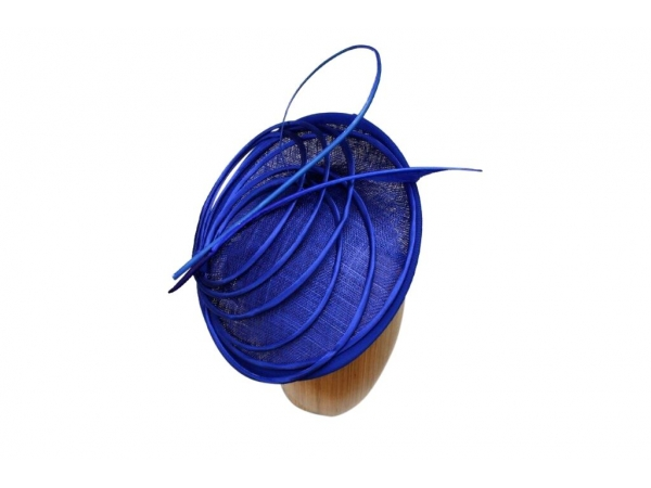 Pia Cobalt Fascinator