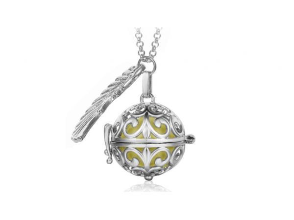 Bola  necklace silver/gold