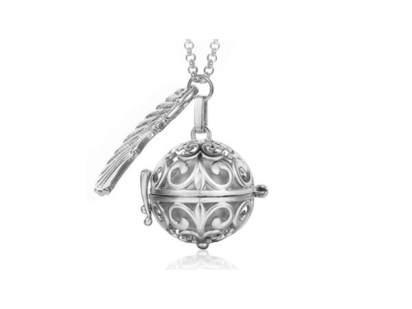 Bola  necklace silver/silver