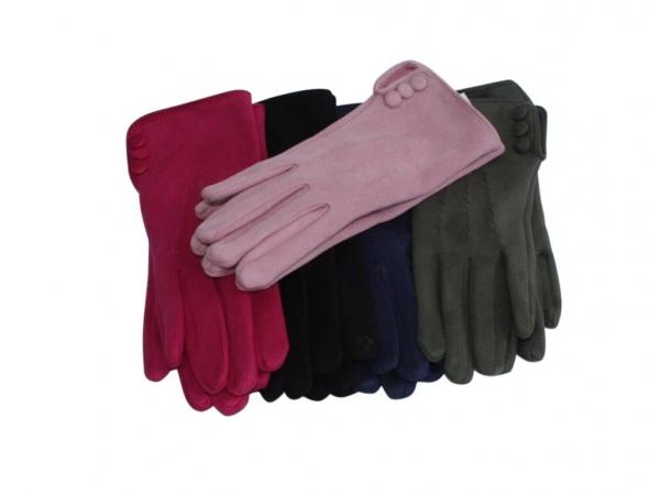 SG-3 Faux Suede Gloves Asstd 10pk