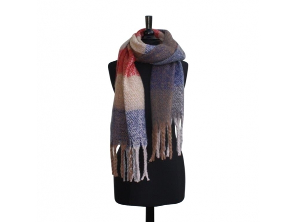 Ws-163 Camel Winter Blanket scarf