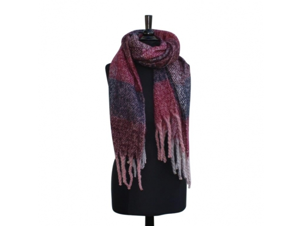 Ws-163 Rouge Winter Blanket scarf