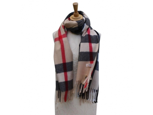 Ws004 Col#1 Burberry Style Pashmina