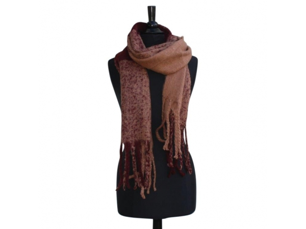 Ws-217 Rouge Winter Scarf Wool & Acrylic Mix.