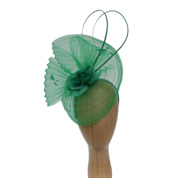Flo Green Fascinator