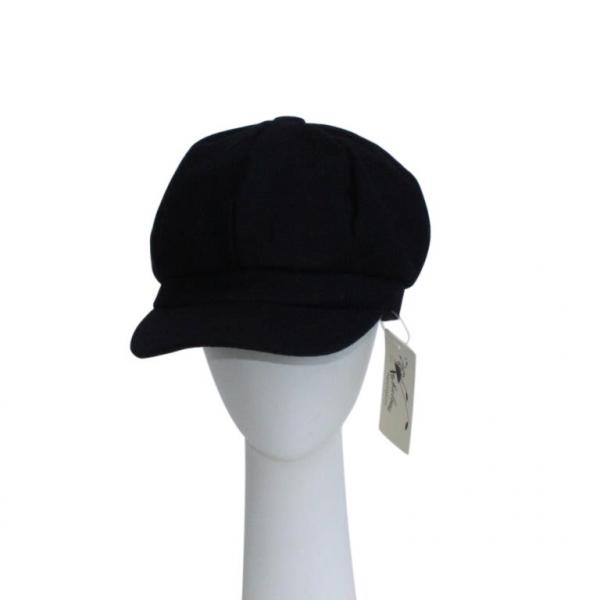 Navy Baker Boy Hat.