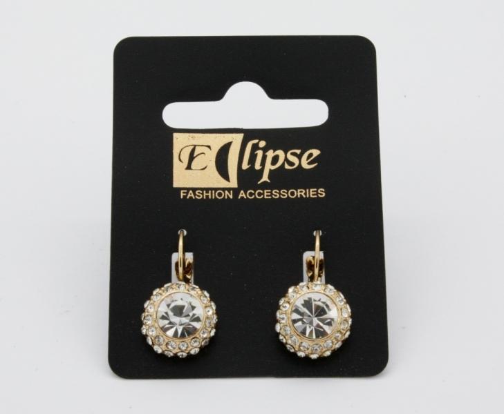 E198gc Crystal Earring