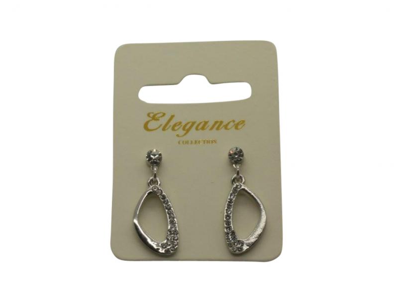 E108s Silver drop earring