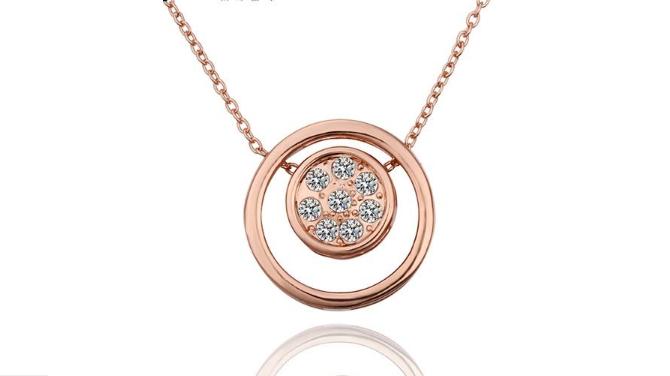 N439 Rose gold pendant.