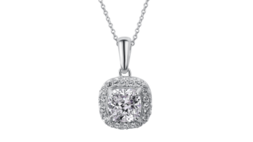 N459 Small crystal pendant