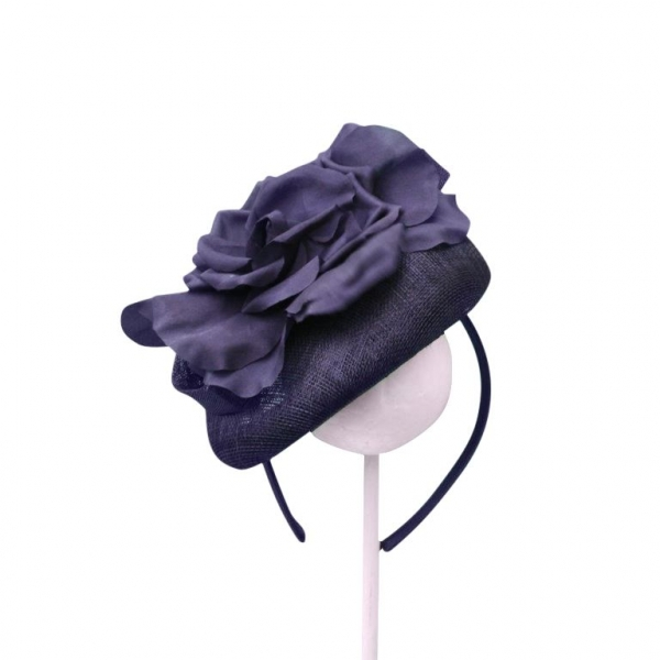 Molly Navy Fascinator