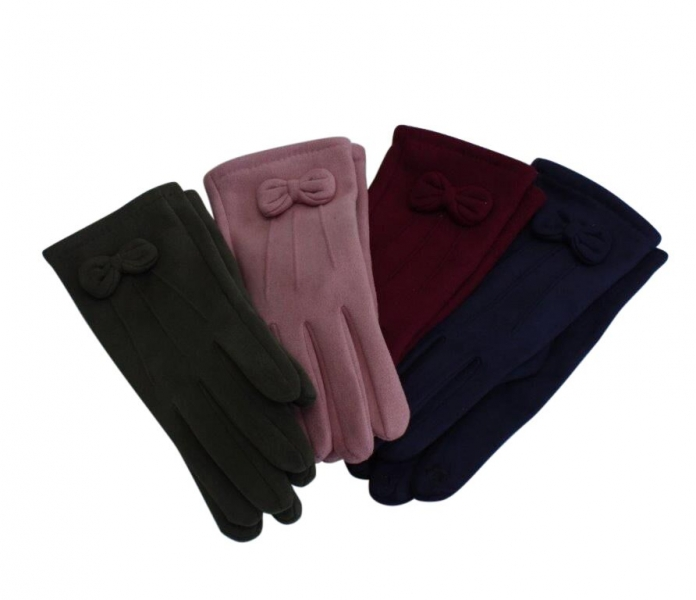 SG-2 Faux Suede Gloves Asstd 12pk