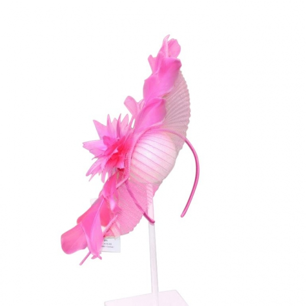 Sharon Cerise Fascinator