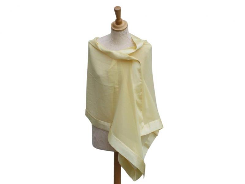 Lemon Silk Wrap